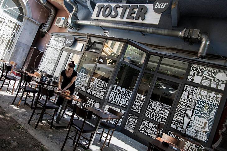 Branding Toster