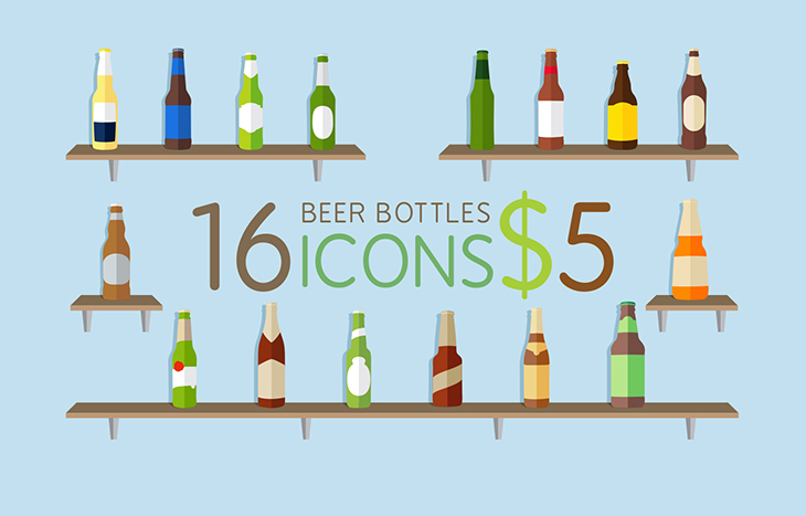 Icons-bottle