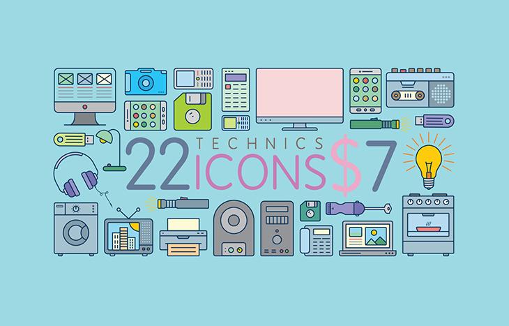 Icons - Technics